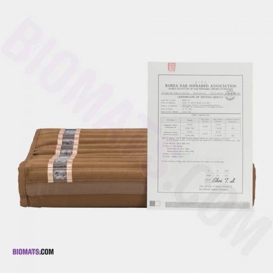 Biomat Pillow with Certification