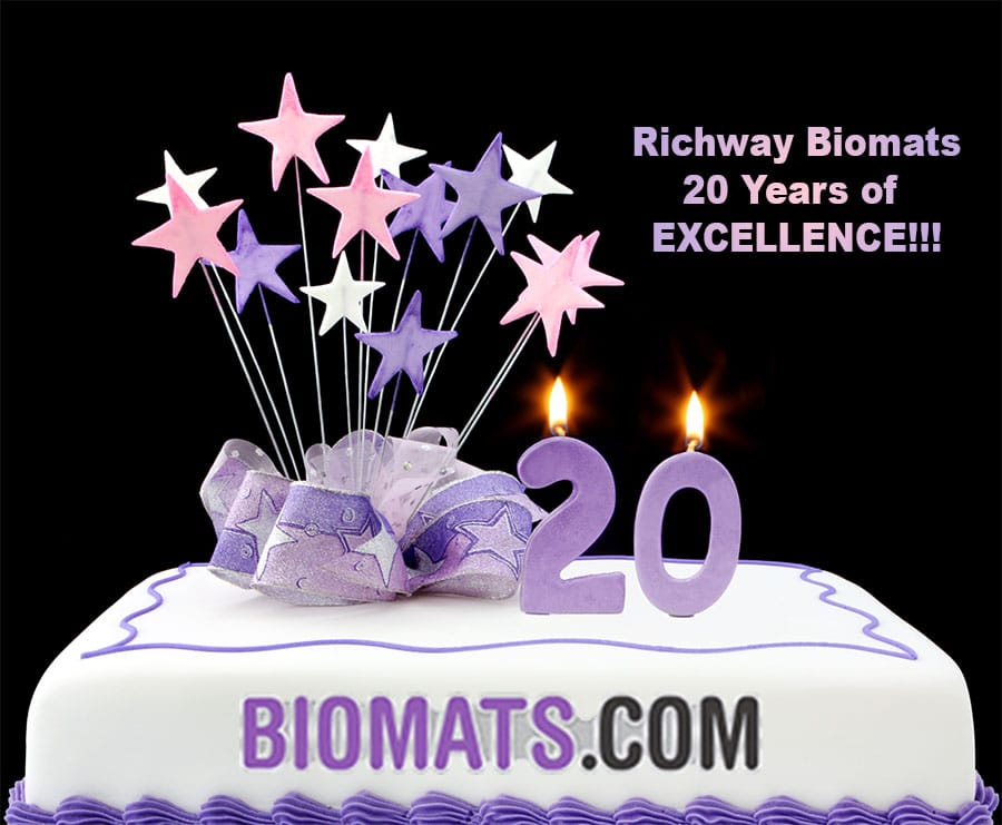 Richway Biomat 20 years