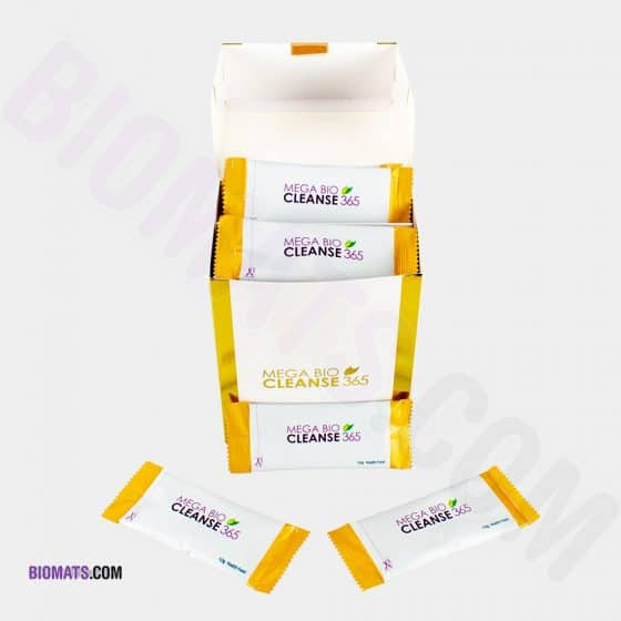 Mega Bio Cleanse 30pack open