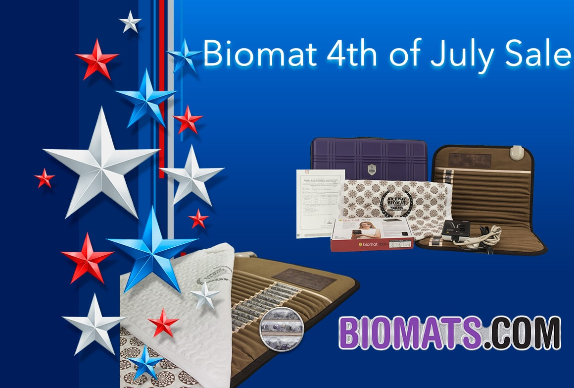 4th of July Biomat Sale