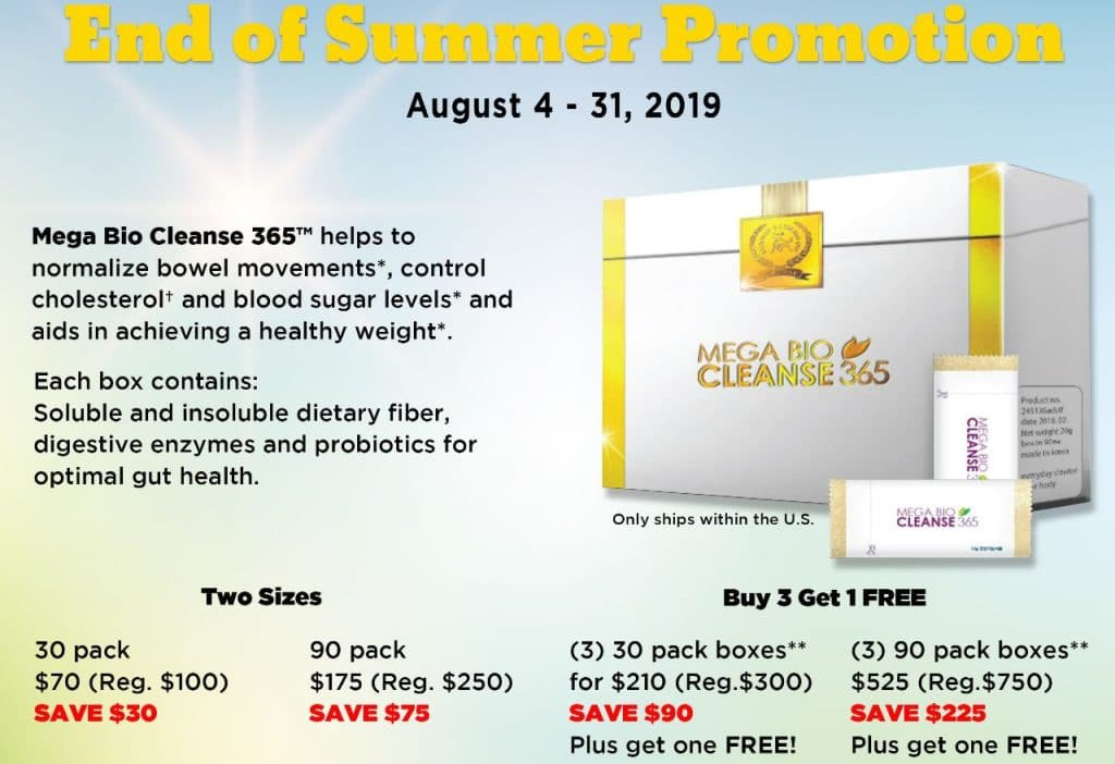 Mega Bio Cleanse 365 Best Price