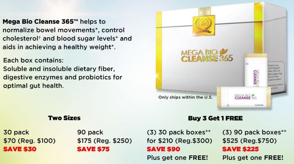 Best Price Mega Bio Cleanse