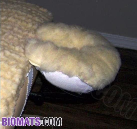Wool massage table cover